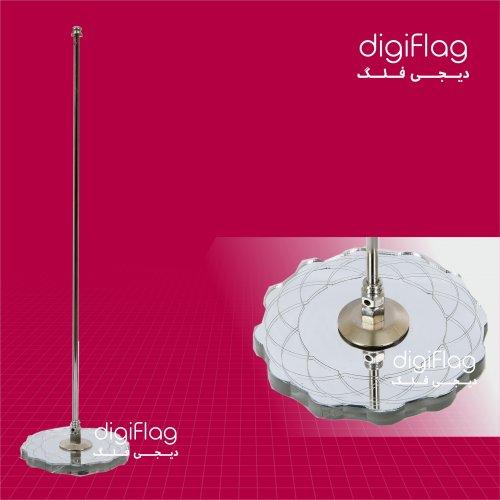 پایه پرچم رومیزی آینه ای