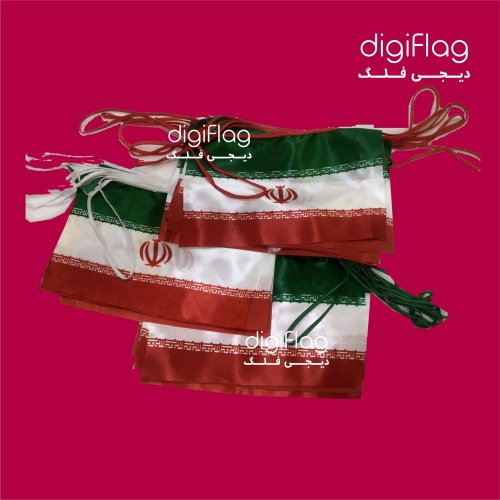 پرچم ریسه ایران