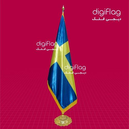پرچم تشریفات کشور سوئد